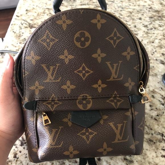bb8997c0b2 Louis Vuitton Handbags - Authentic Louis Vuitton Mini Palm Spring Backpack
